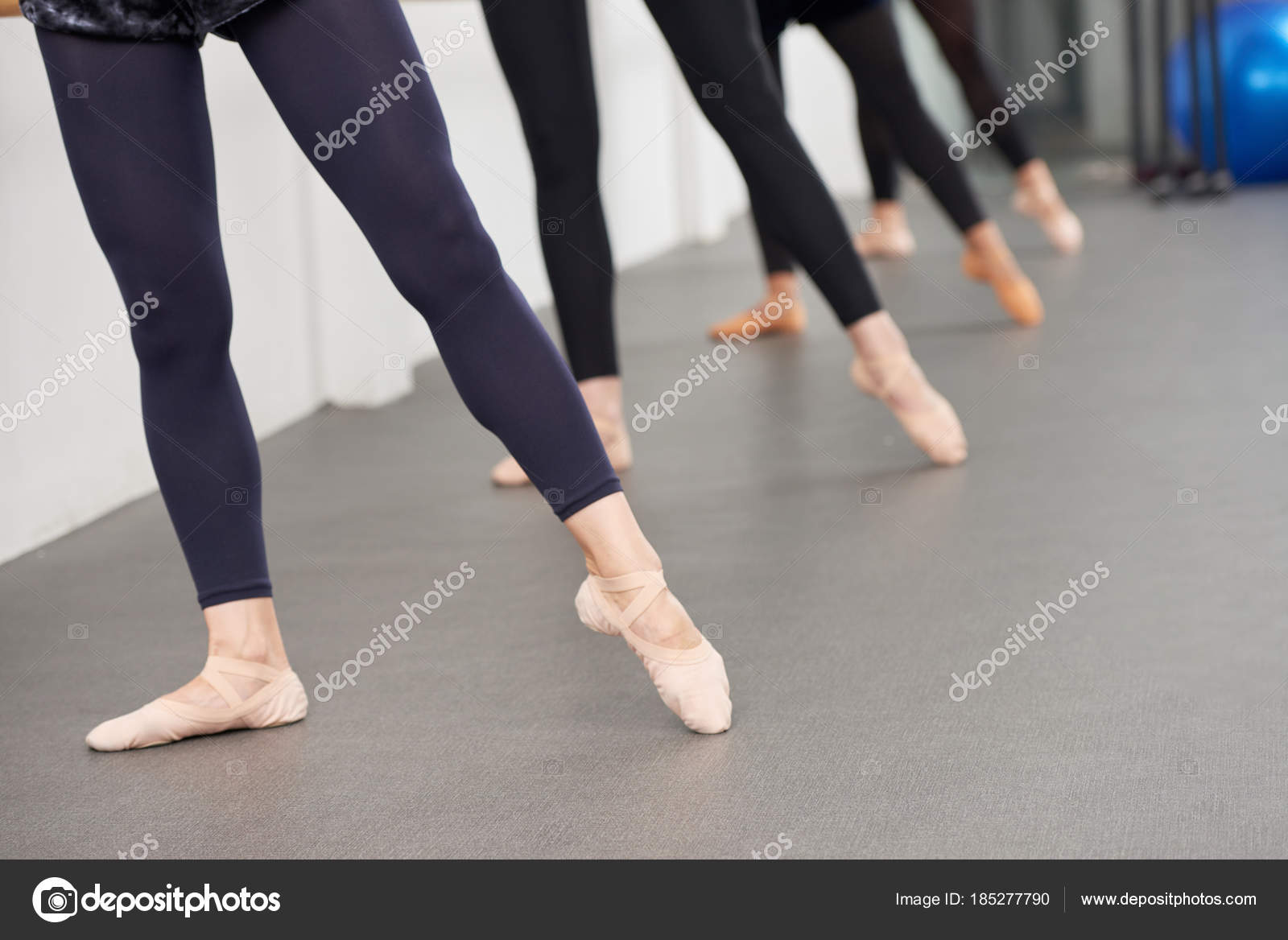 Ballerinas Pointing Toes Performing