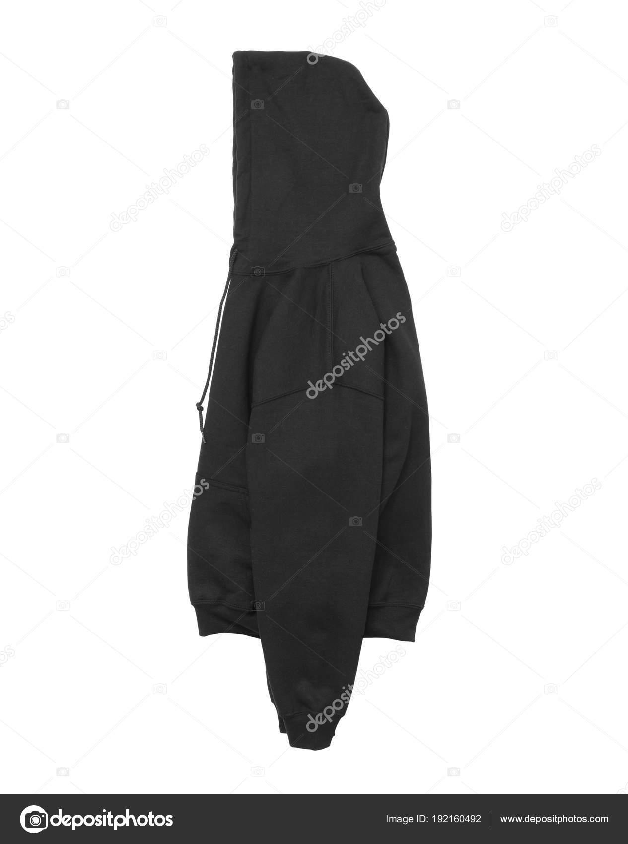Blank Black Hoodie