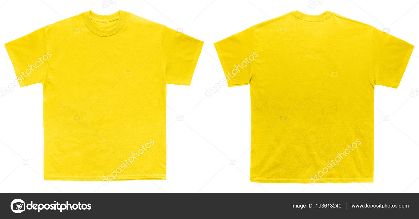 0b4733449 Blank T Shirt color daisy template front and back view on white background  — Photo by ...