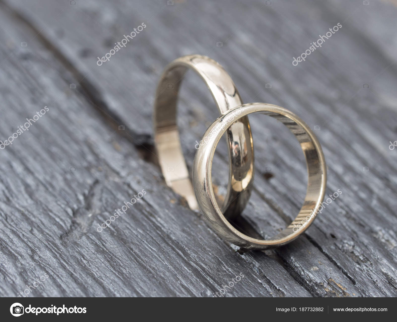 rings wedding photo image d illustration stock golden two render