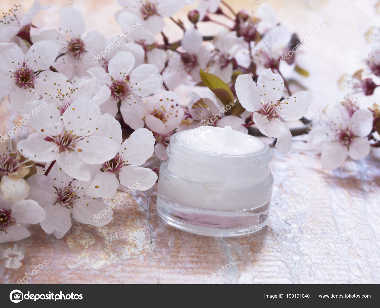Natural cosmetics fresh spring flowers stock photo vesnac 190191040 natural cosmetics fresh spring flowers stock photo mightylinksfo