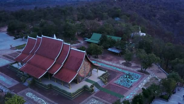 Wat Sirindhornwararam (Phu Prao Temple), Ubon Ratchathani, Thailand.