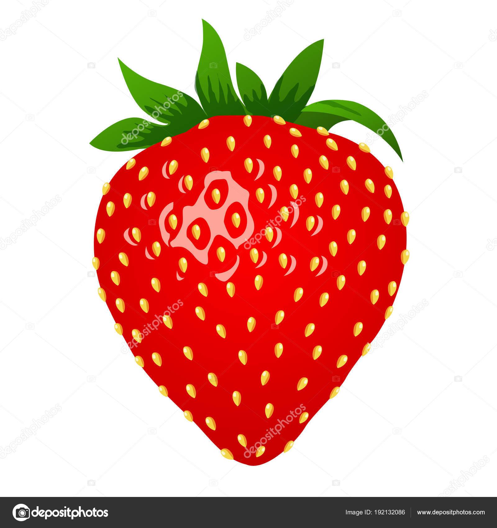 Erdbeere Symbol