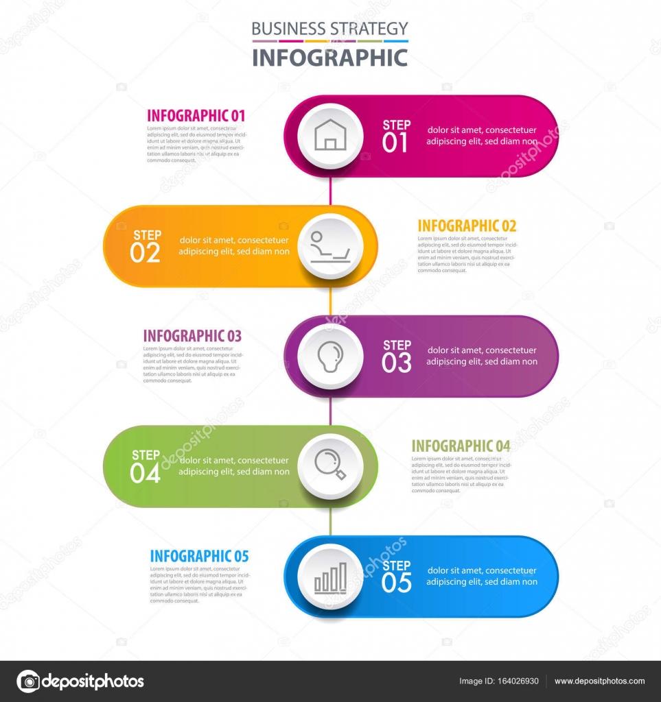 Infografías negocios illustrat gráfico de la plantilla de elementos ...