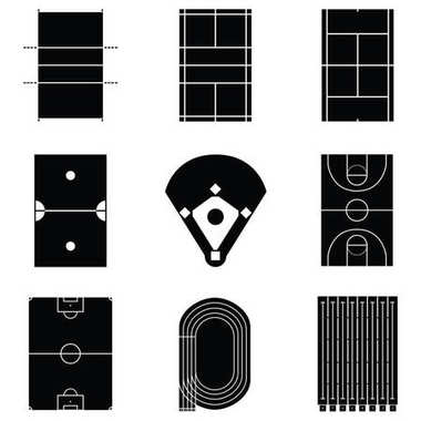 the stadium icon set