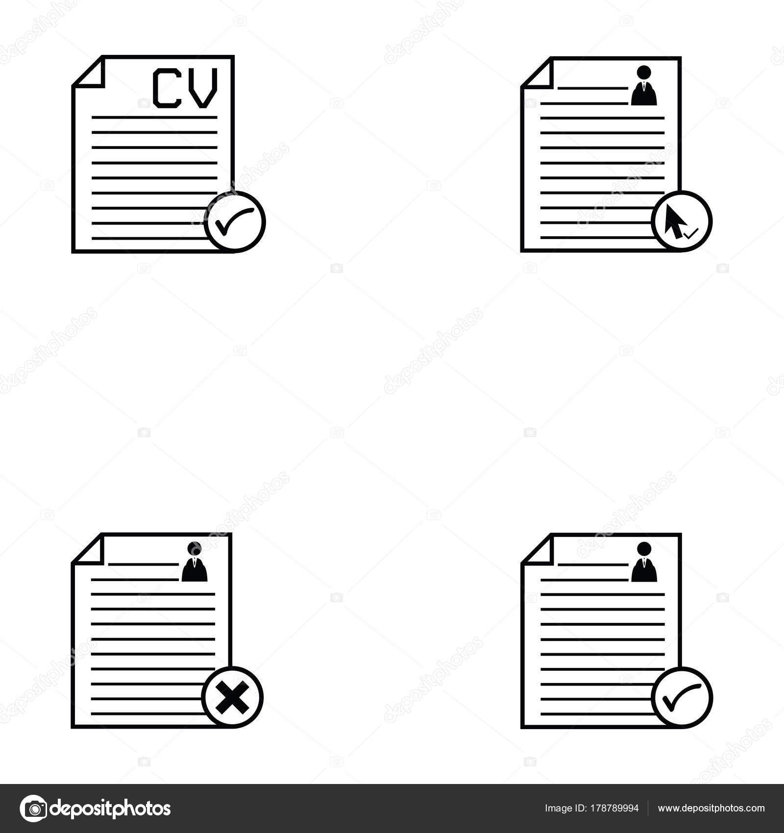 conjunto de iconos de reanudar — Archivo Imágenes Vectoriales ...