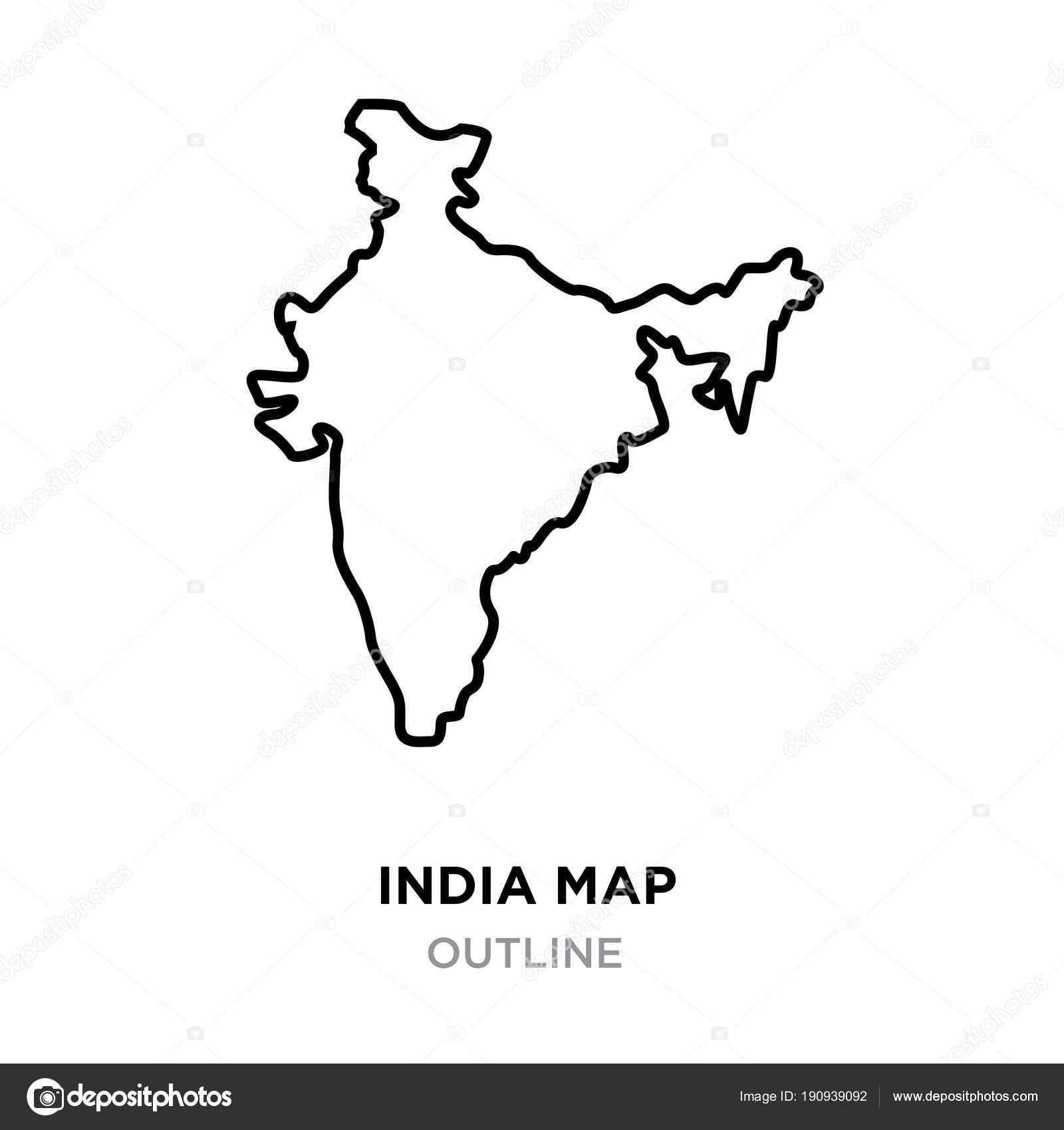 World map outline high resolution png | India map outline ...