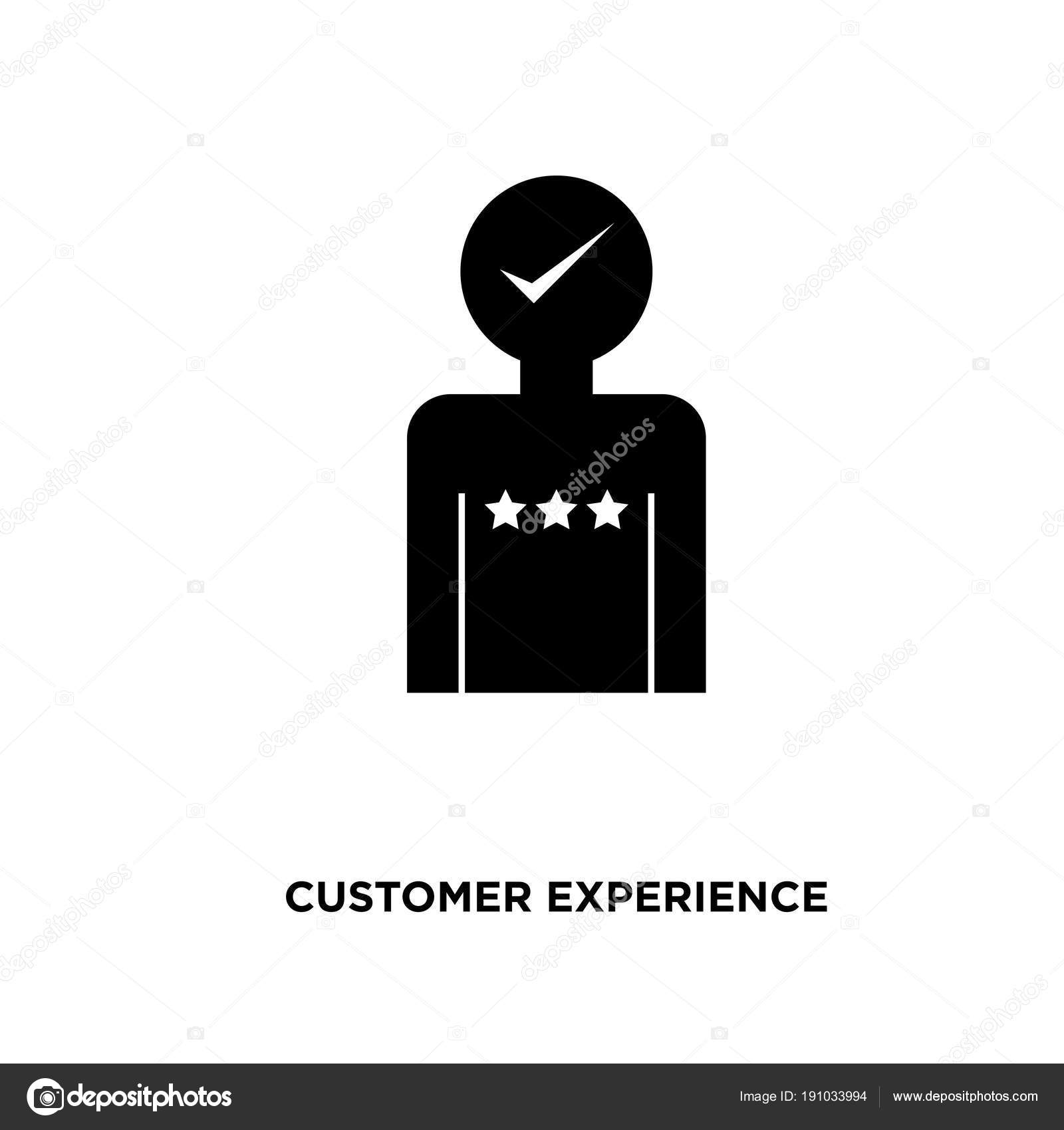 Customer Experience Icon Isolated On White Background For Your Web Mobile And App Design