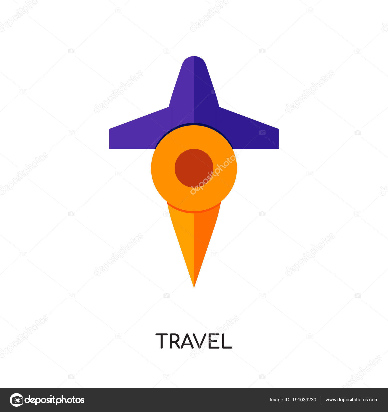 travel logo png isolated on white background for your web mobil stock vector c vectorgalaxy 191039230 https depositphotos com 191039230 stock illustration travel logo png isolated on html