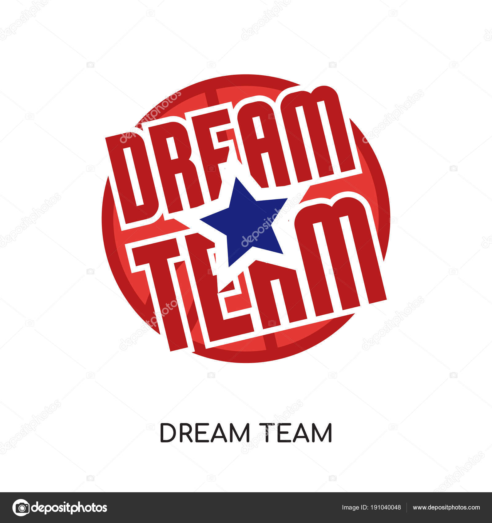 dream team logo isolated on white background for your web mobil rh depositphotos com dream team logo 512x512 dream team login