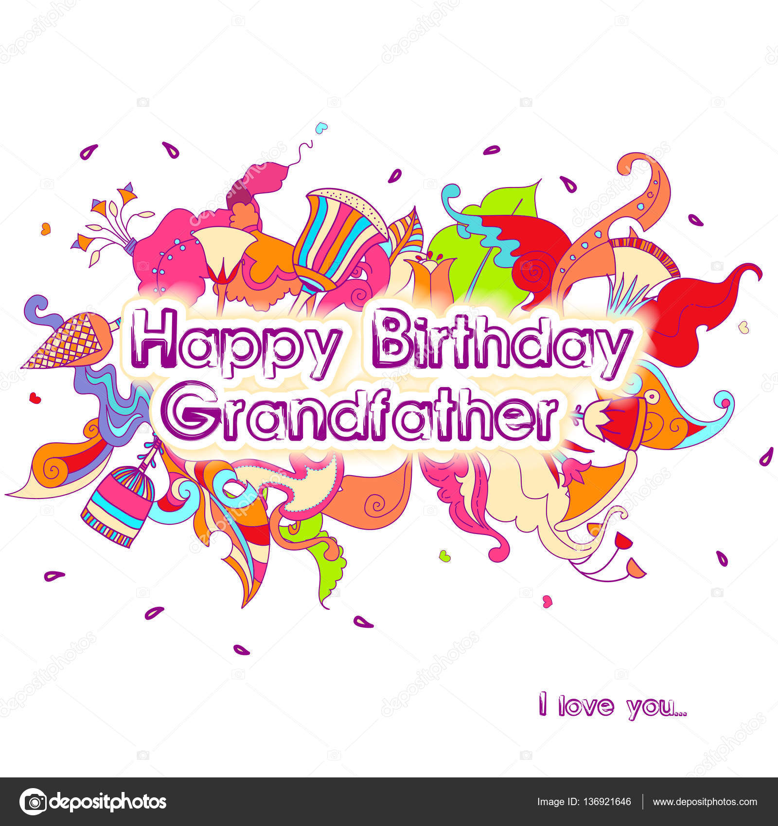 Happy birthday typographic vector design for greeting cards happy birthday typographic vector design for greeting cards birthday card invitation card isolated birthday text lettering composition stopboris Gallery