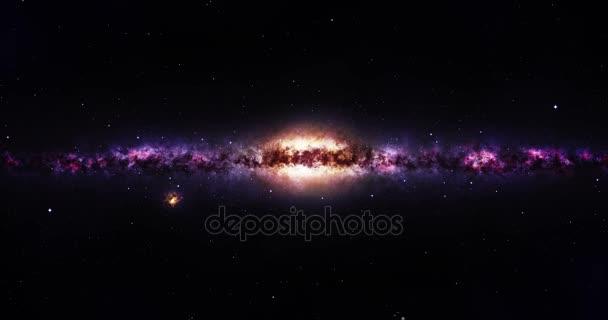 Cestují do Galaxie ve vesmíru