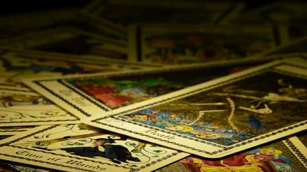 Diabel I Smierci Kart Tarota Wideo Stockowe C Ianm36 134078192