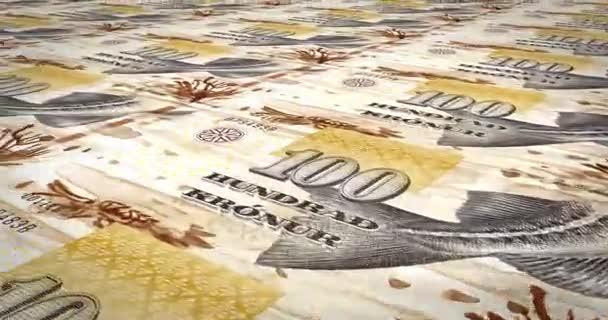 Bankovky sto Faerská koruna z Faerských ostrovů, hotovost, kličková diuretika,