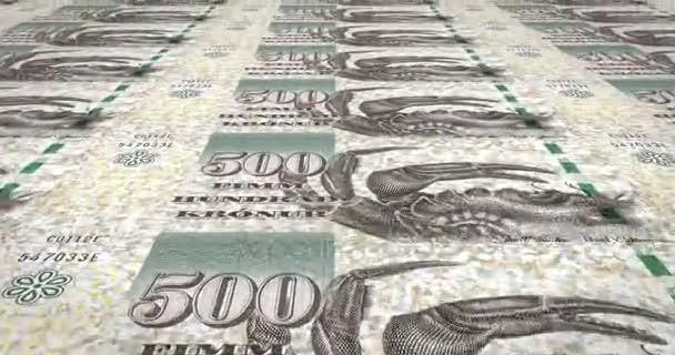 Bankovky z pěti set riál Faerských ostrovů Faerských ostrovů, hotovost, kličková diuretika,