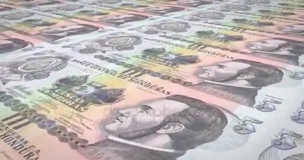 Banknoten der fünf honduranische Lempira von Honduras Rollen, Bargeld, Schleife