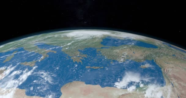 Mediterranean Sea, between Africa and Europe, in planet earth