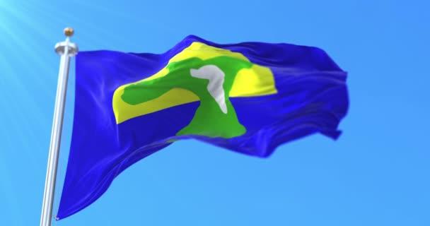 Bandiera dellarcipelago delle Chatam Islands, in Nuova Zelanda. Ciclo