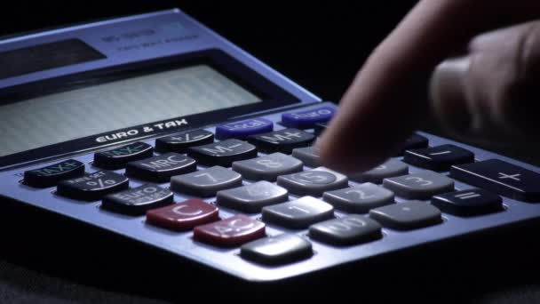 Calculating with a domestic calculator