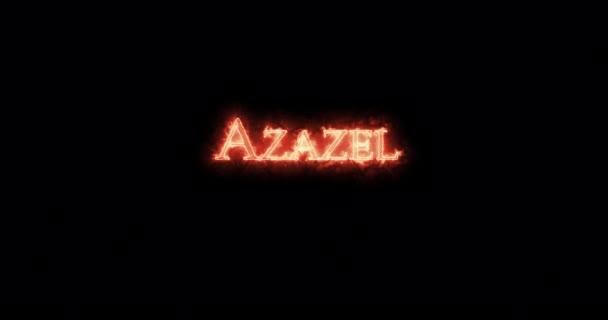 Azazel tűzzel írta. Hurok