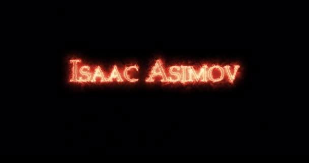 Isaac Asimov napsal ohněm. Smyčka