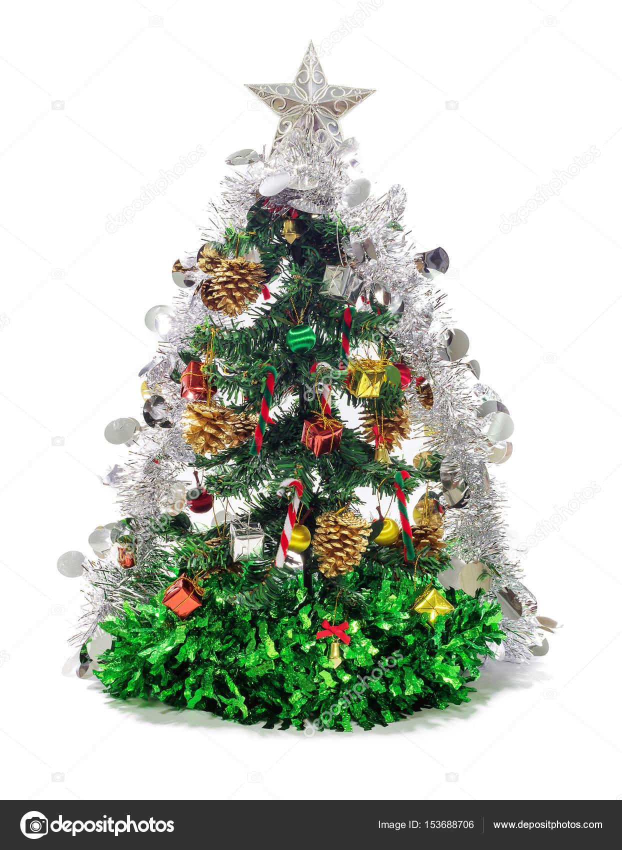 Kerstboom Decoraties Stockfoto C Nirutdps 153688706