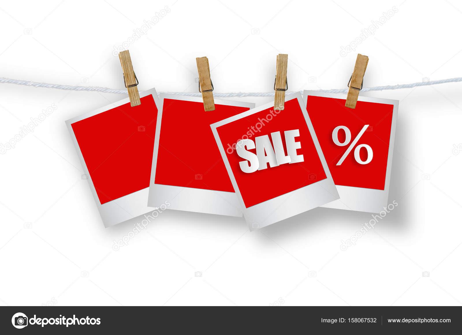Verkauf-Etiketten in Bilderrahmen — Stockfoto © nirutdps #158067532