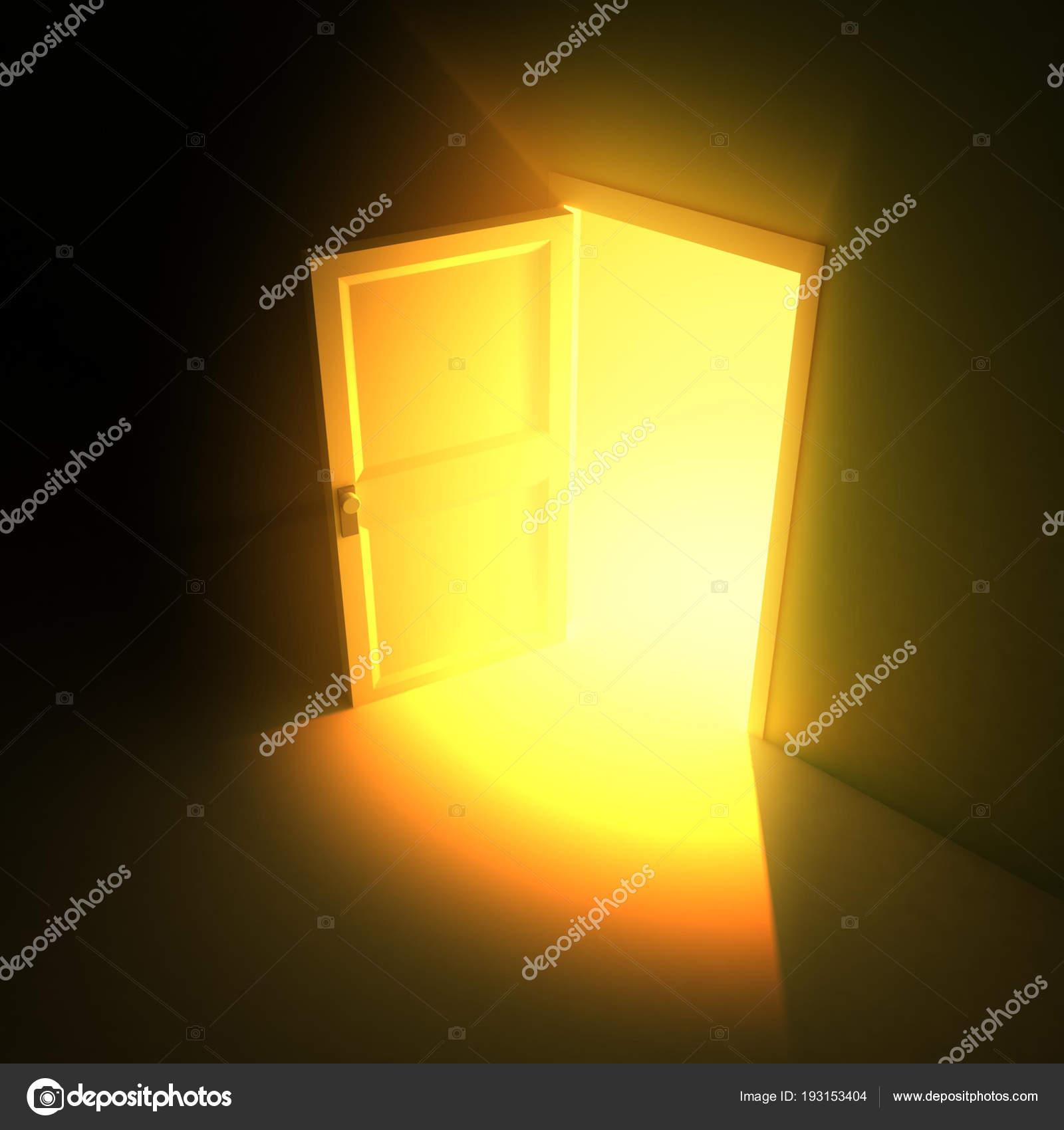 wide open doors. Plain Doors Wide Open Door Light U2014 Stock Photo Throughout Doors L
