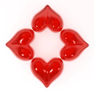 Heart Flower Shape