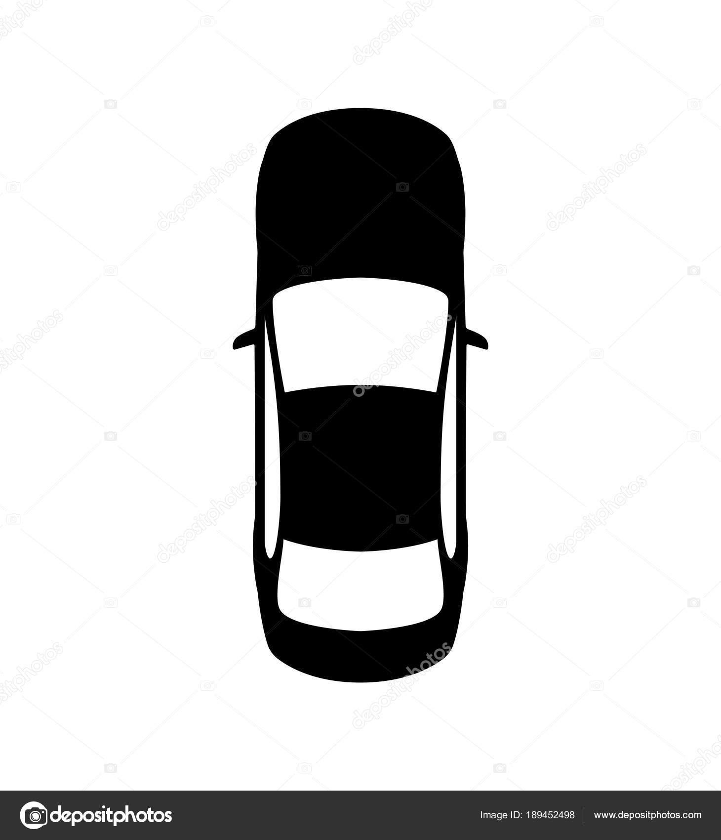 Top View Of A Car Car Icon Vector Stock Vector C Warmworld