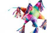 Fotografie Farbenfrohe mexikanische pinata