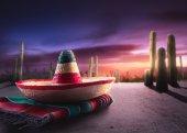 Fotografie mexikanischer Hut Sombrero