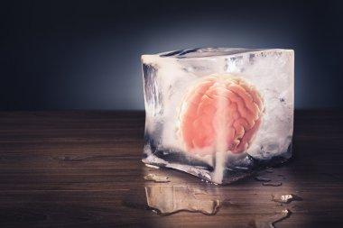 brain freeze concept
