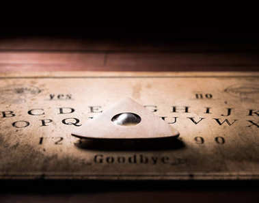 talking board and planchette