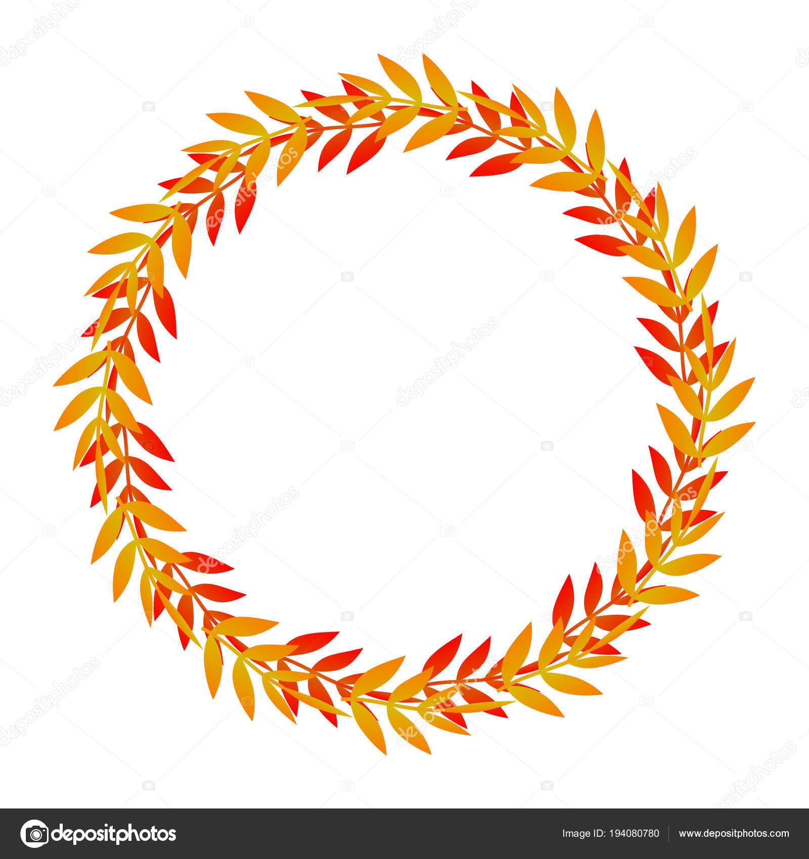 marco lindo hojas — Vector de stock © flowersmile #194080780