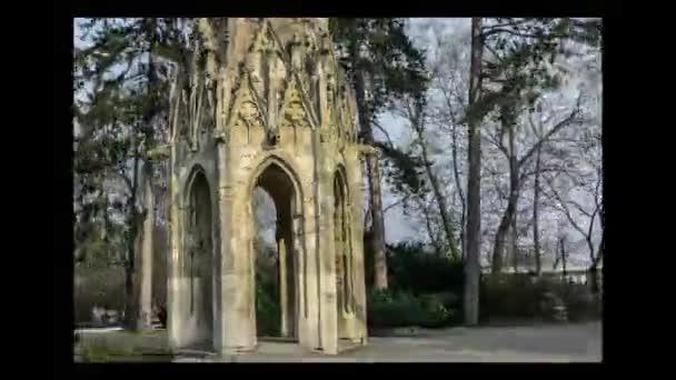 Gotická věž v Sad Janka Krala