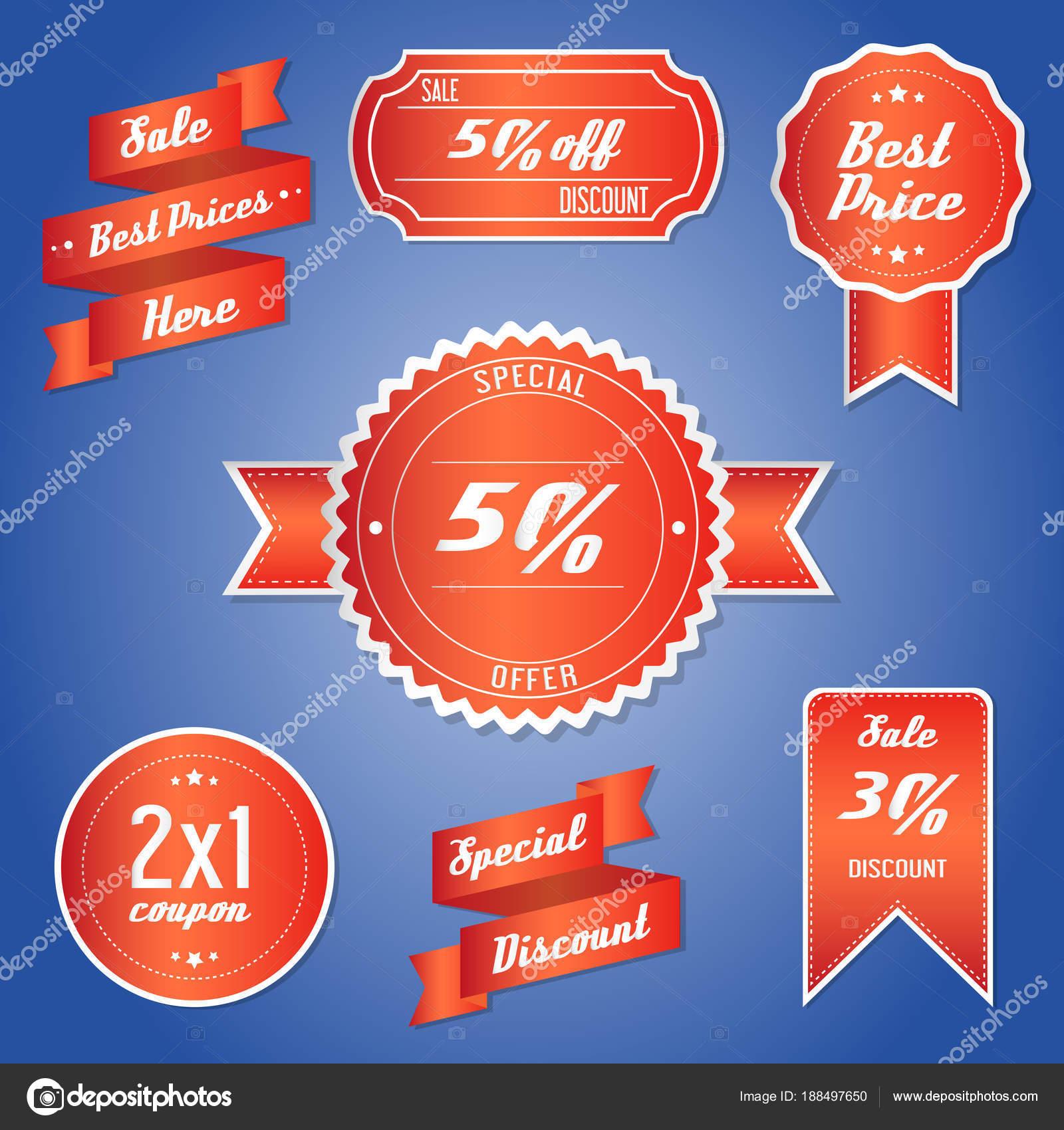 Vertrieb Tag Rabatt Verkaufen Werbung Gutschein Vorlage Preisangebot