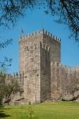 Castello medievale nella città di Guimaraes, regione del nord del Portogallo