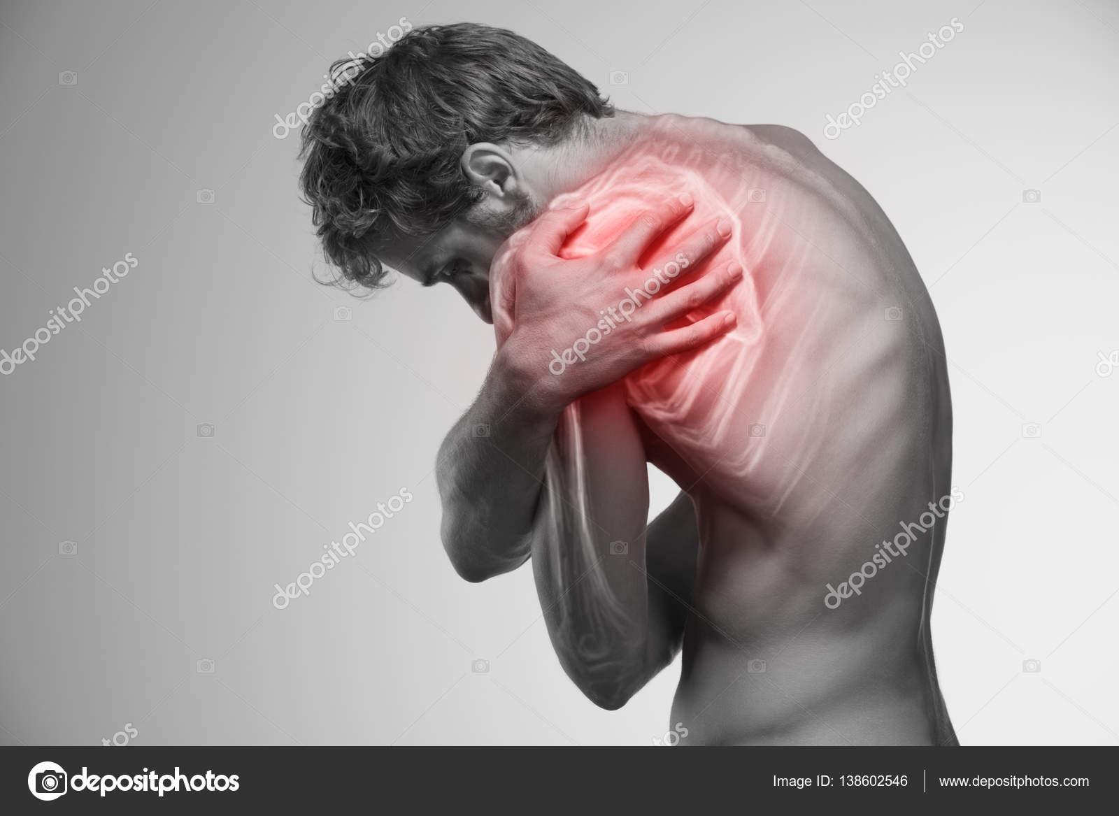 Schulter-Schmerz-symbol — Stockfoto © artstudio_pro #138602546