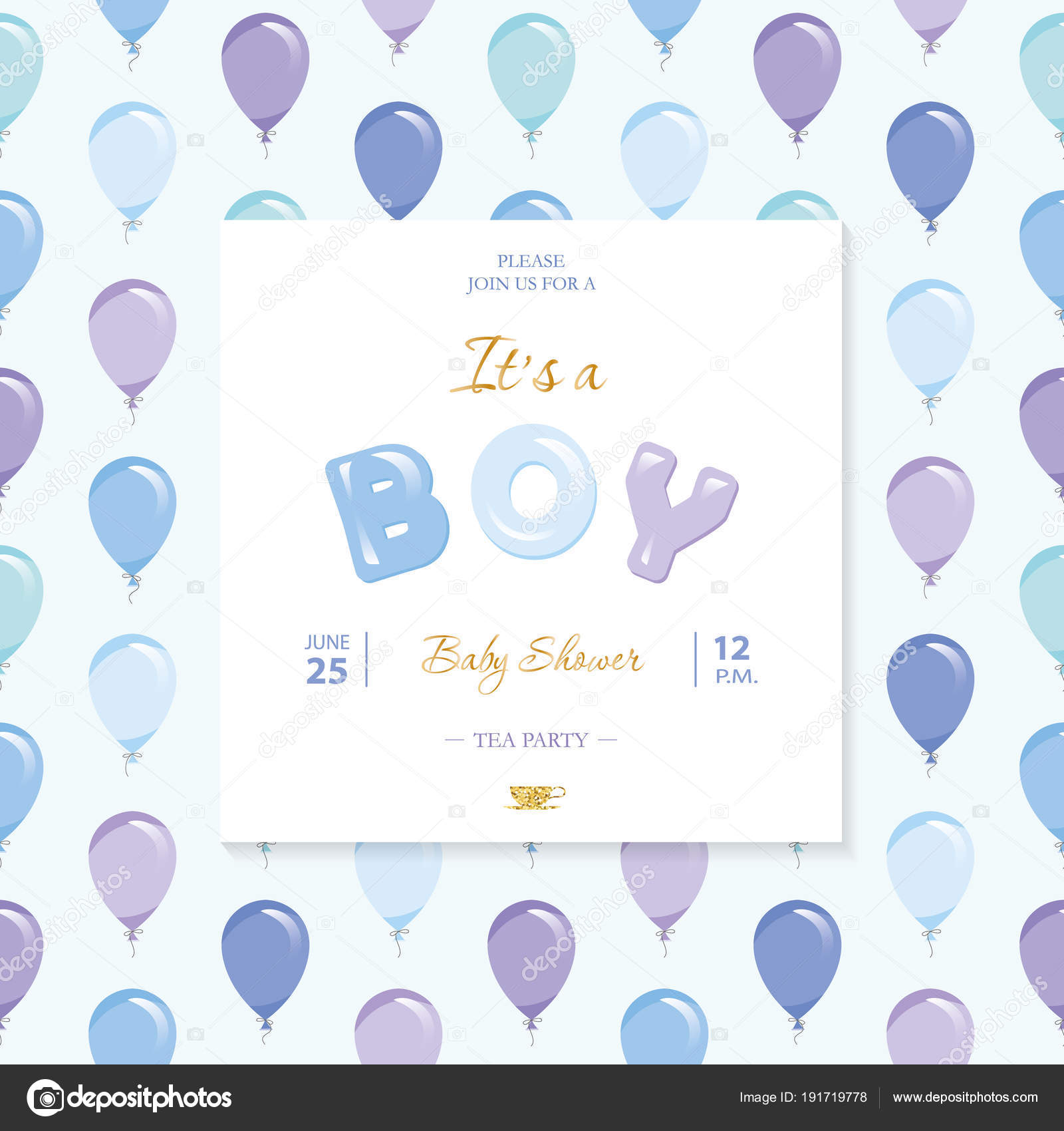 it s a boy baby shower template included seamless pattern with