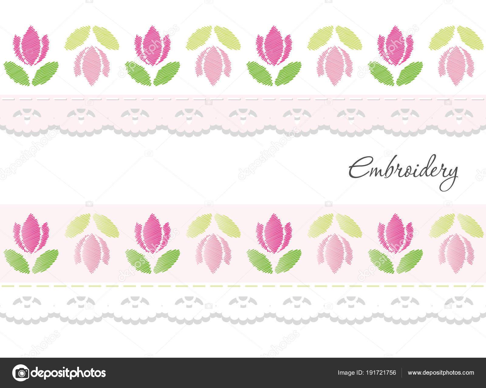 Diseños de cintas-decorativas   Cintas decorativas bordado aisladas ...