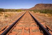 Outback vasúti pálya és a Mount névtelen