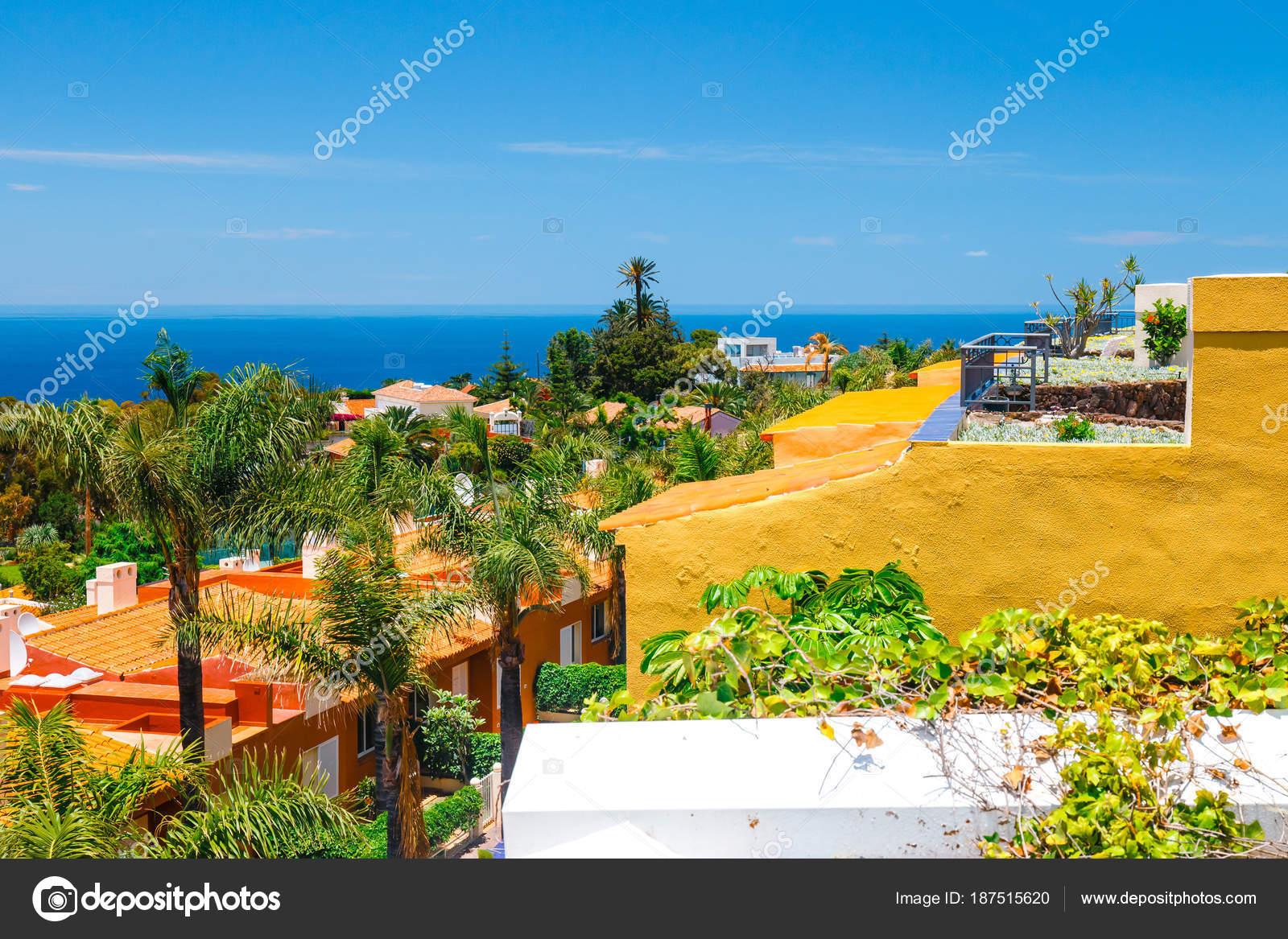 soggiorno presso hotel di lusso, isola di tenerife, Spagna — Foto ...