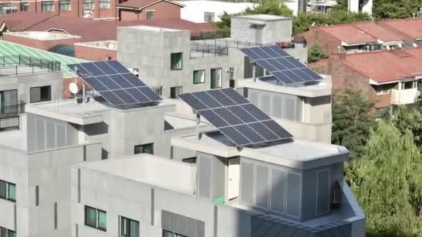 Solární panely na střeše