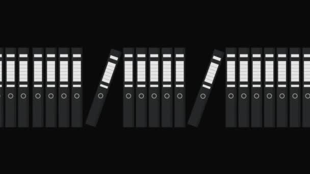 Folders Files Motion Graphic
