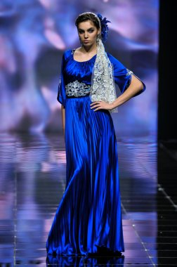 Laura and Medni Collection during Moscow Fashion Week