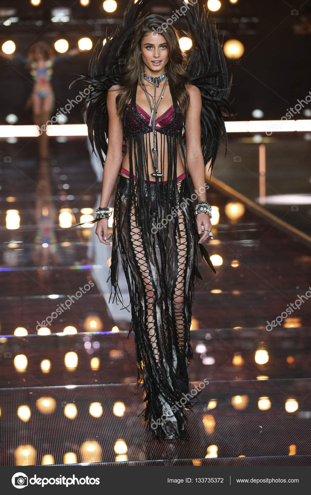Victoria Secret Espagne Malaga victoria's secret fashion show – stock editorial photo