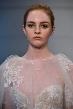 Monique Lhuillier Bridal show