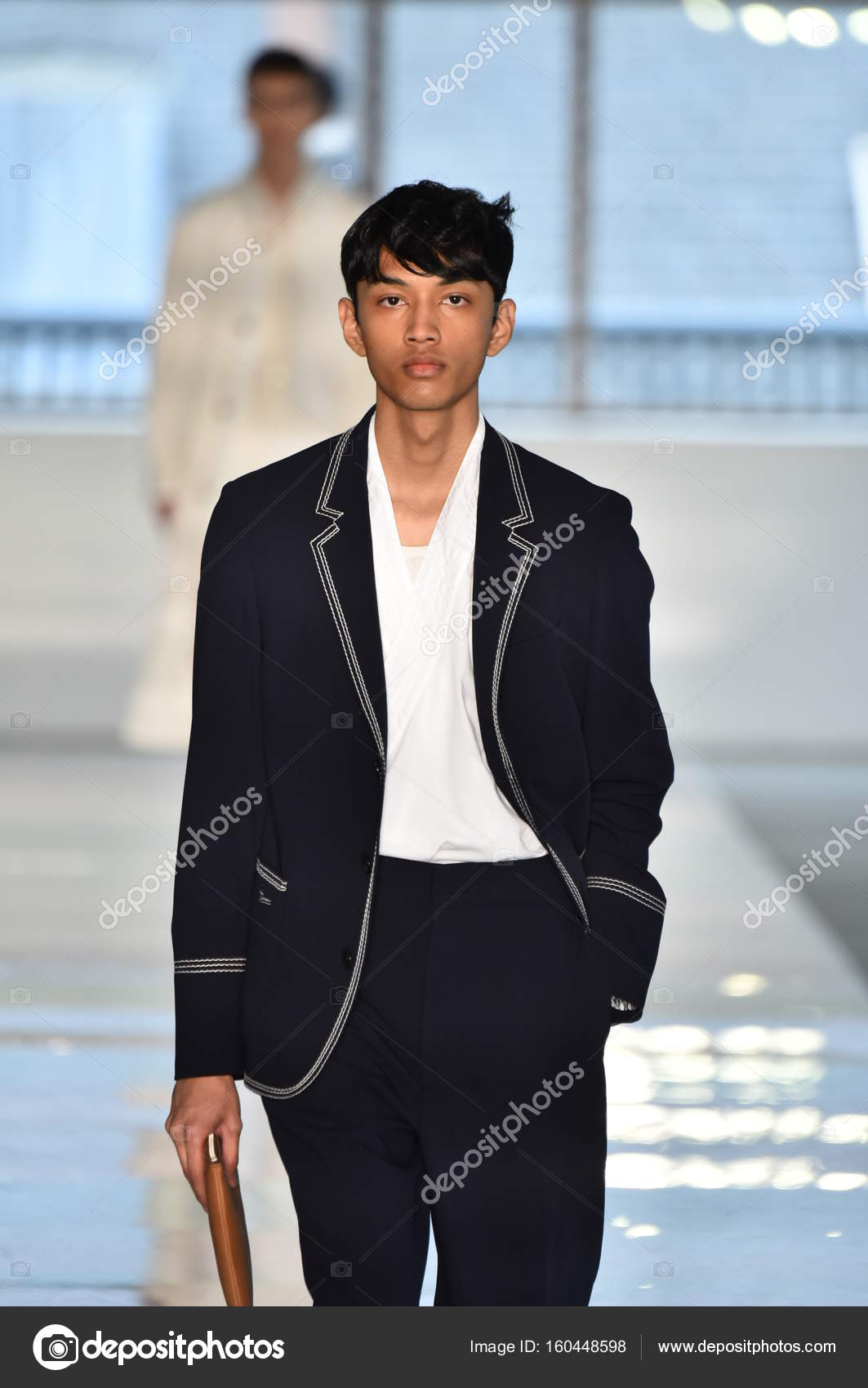 db1f8f3052496 Hugo Boss Menswear Fashion Show