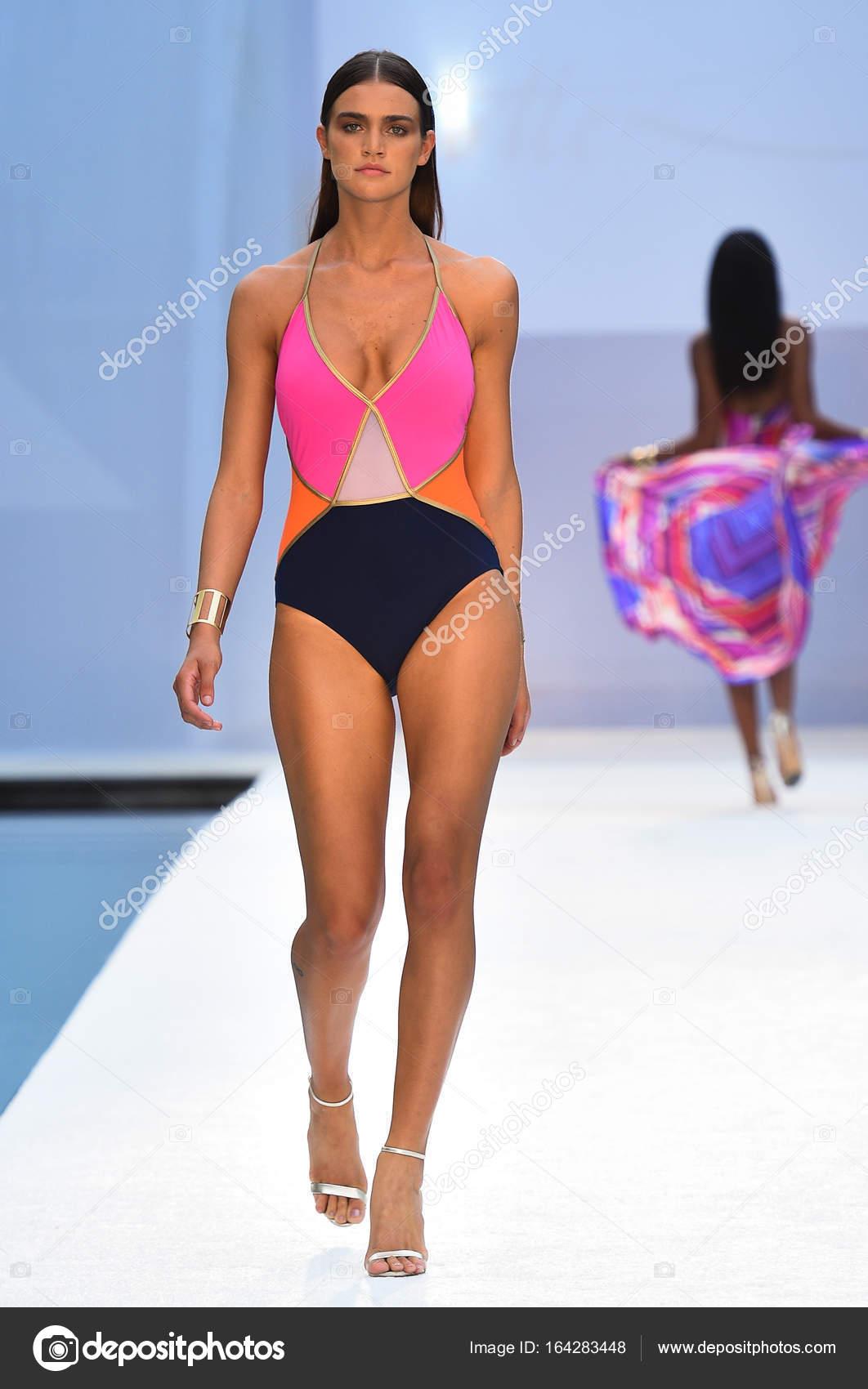 c2c32cf0cf388 SWIMMIAMI Gottex Cruise 2018 Fashion Show – Stock Editorial Photo ...